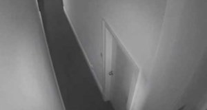 Ghostly Orb Caught on Security Camera