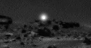 Odd Light Caught by Mars Curiosity Rover